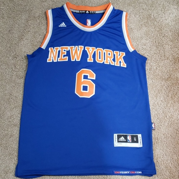 sports shoes dcf9f 1eedc Adidas New York Knicks jersey